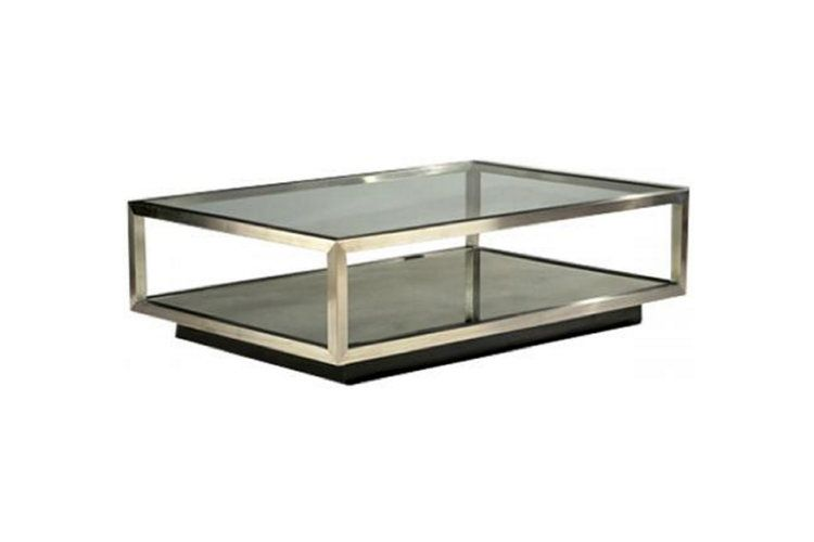212-214 Mirrored Cocktail Table