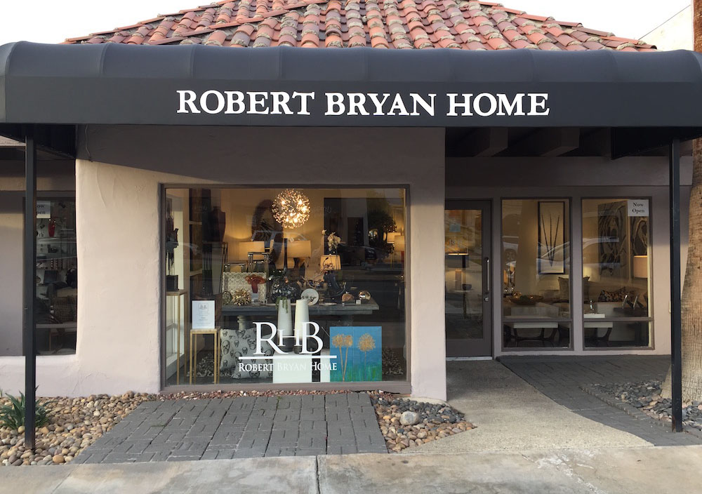 Come visit Robert Bryan Home's Palm Desert showroom